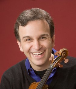 Image of Gil Shaham, who will be performing at the Copley Symphony Hall on February 7th, 2013.