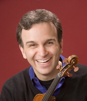 Image of Gil Shaham, who will be performing at the Copley...