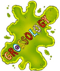 "Logo for the ""Grossology"" Exhibition, at the Reuben H. Fleet Science Center, who will be hosting the ""Gross Olympics"" on July 7th."