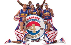 Promotional image of the Harlem Globetrotters