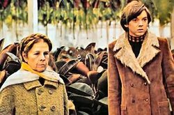 """Image from a scene of """"Harold and Maude"""" (1971) as part of the Coming of Age Film Festival hosted by the Museum of Photographic Arts"""