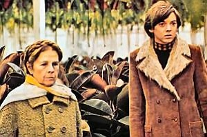 "Image from a scene of ""Harold and Maude"" (1971) as part of the Coming of Age Film Festival hosted by the Museum of Photographic Arts"