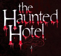 Promotional graphic for the Haunted Hotel.