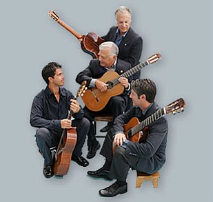Image of The Romeros, who are returning to the Copley Symphony Hall on May 17th - 19th, 2013.