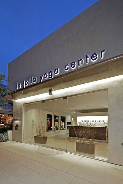 Exterior photo of the La Jolla Yoga Center.