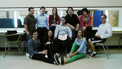 Image of the Iota Eta Pi SDSU Improv team