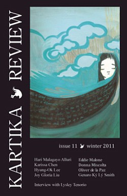 Graphic of Issue Eleven - Winter 2011 of Kartika Review.