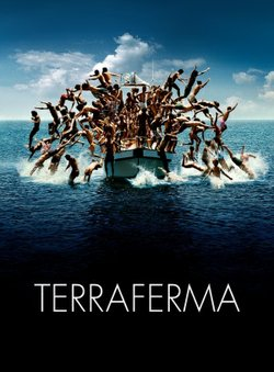 """Movie poster for the film, """"Terraferma"""""""