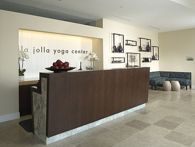 Interior image of The La Jolla Yoga Center.
