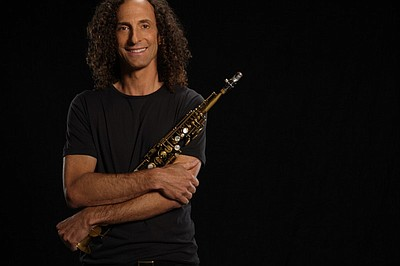 Image of Kenny G, who will be performing at teh Copley Symphony Hall on March 22nd & 23rd, 2013.