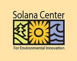 Logo for the Solana Center, who will be holding a Free Composting Workshop at the San Diego Botanic Garden on December 1st, 2012.