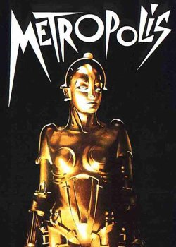 """Graphic for the film screening of """"Metropolis,"""" at San Diego Museum of Art on September 7, 2012."""