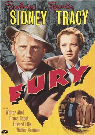 "Promotional graphic for the film, ""Fury (1936)"" that will..."