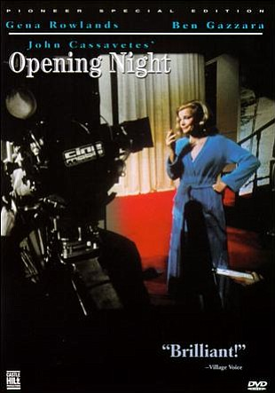 "Promotional graphic for the film, ""Opening Night"" which w..."