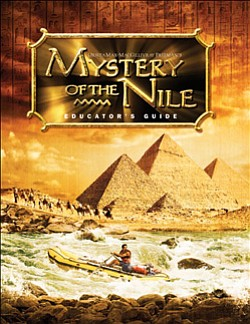 "Promotional movie poster of ""Mystery of the Nile."""