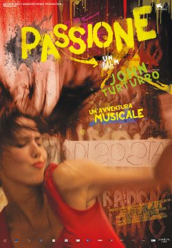 """Movie poster for the film, """"Passione"""""""