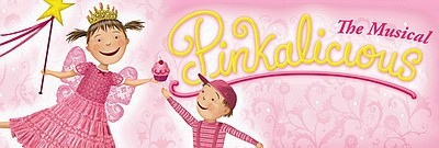 Promotional Graphic for  Pinkalicous The Musical performing at the North Coast Repertory Theatre. See description for dates.