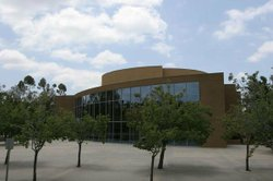 Exterior image of the Poway Center for the Performing Arts.