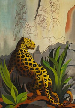 Promotional image of Raul Guerrero's artwork.