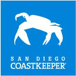 Graphical logo of San Diego Coastkeeper.