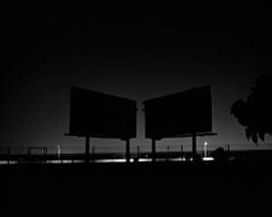 scott b. davis, billboards, san fernando valley, Platinum print, 2008, Courtesy of the artist and hous projects, NY, NY