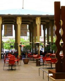 Exterior image of the Structure Court Cafe.