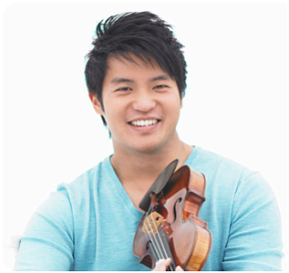 Image of Ray Chen, who will be performing at the Copley Symphony Hall on October 26-28th.