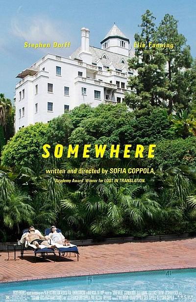 "Promotional graphic for the film, ""Somewhere"""