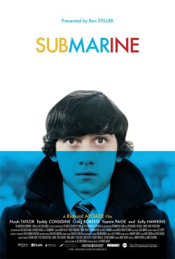 "Promotional graphic for the film, ""Submarine"""