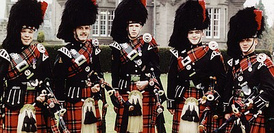 "Image of ""Pipes and Drums From The black Watch."""