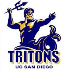 Graphic logo for UC San Diego Tritons