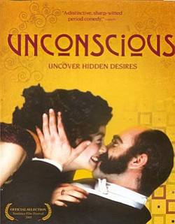 "Promotional movie poster for ""Unconscious"" (2004)."