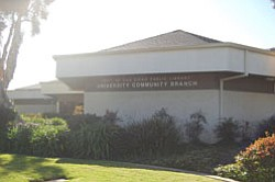 Exterior image of North University Community Branch Library.