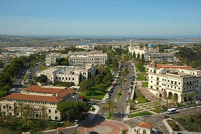 Exterior image of the University of California San Diego