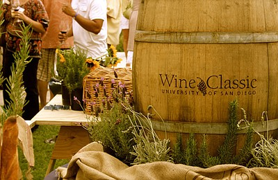 Promotional image of the 4th Annual University Of San Diego Wine Classic