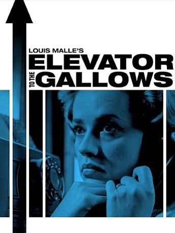 "Promotional graphic for the film, ""Elevator To The Gallows"""