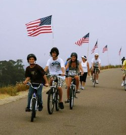 Promotional photo for the 4Th Of July Scripps Ranch 12 Mile Bike Ride. Courtesy of Scripps Ranch Old Pros.
