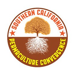 Graphic logo for Southern California Permaculture Converg...
