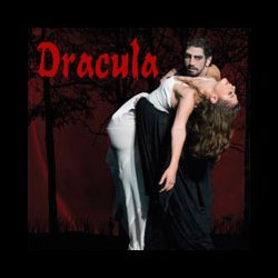 "Promotional graphic for ""Dracula"" presented by California Ballet, at the San Diego Civic Theatre, October 26-27, 2013. Courtesy of California Ballet & San Diego Civic Theatre"