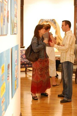 Promotional image in the A list's 22nd Annual Juried Exhibition on August 29, 2013.