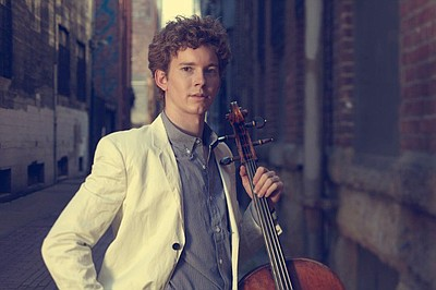 Image of Joshua Roman, who will be performing at 2013 Athenaeum's Chamber Music Series. Courtesy to Joshua Roman.