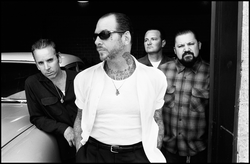Photo of Social Distortion who will be performing at the House of Blues San Diego on January 16th, 2013. Courtesy to Social Distortion.