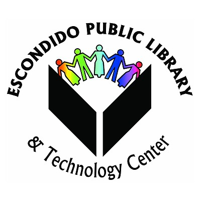 Graphic logo for the Escondido Public Library.