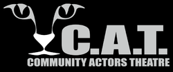 Promotional logo for the Community Actor's Theatre.