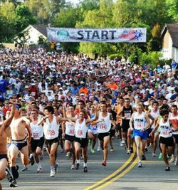 Promotional photo for 4th Of July Scripps Ranch 10K Race. Courtesy of Scripps Ranch Old Pros.