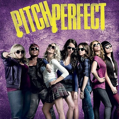 "Promotional graphic for the film, ""Pitch Perfect"""