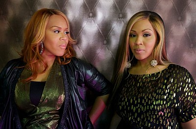 Image of Mary Mary and Dottie, who will be performing at the San Diego County Fair on June 29th, 2013. Courtesy of the Del Mar Fairgrounds.