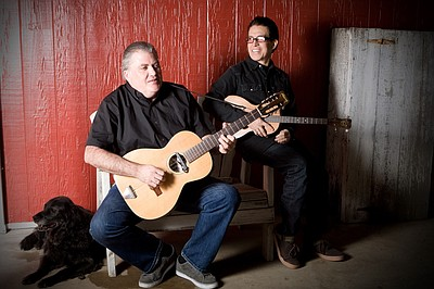 Promotional photo of  special guests Louie Perez and Davi...