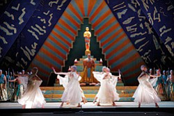 "Promotional image of San Diego Opera's ""AIDA"" by Giuseppe Verdi. Courtesy image of San Diego Opera."