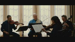 """Image from the film, """"A late Quartet"""""""